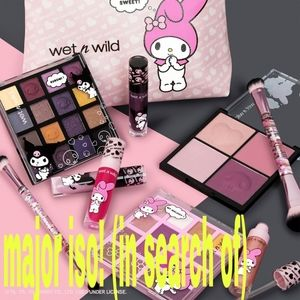 Major iso! Wet n wild kuromi my melody collection